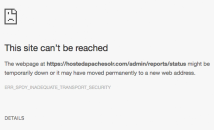 Fix Err_Spdy_Inadequate_Transport_Security