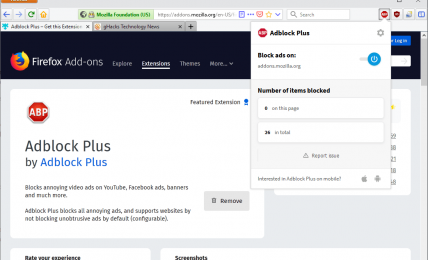 Adblock Plus Not Working